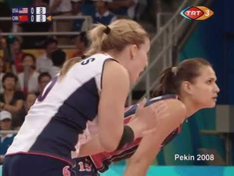 Volleyball Olympics 15 08 2008 Women USA - China