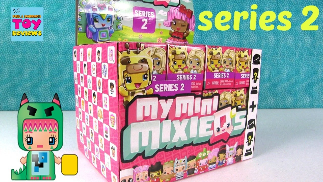 Series 2 my mini mixie qs mmmq blind box figure opening pstoyreviews