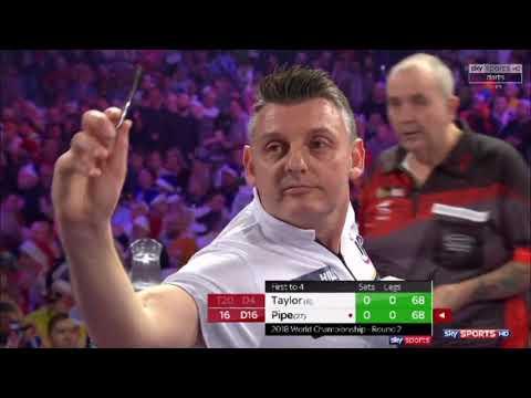 2018 World Darts Championship Round 2  Taylor vs Pipe