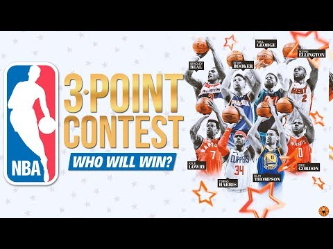 WHO'S GOING TO WIN THE 2018 THREE POINT CONTEST? | NBA All-Star Weekend