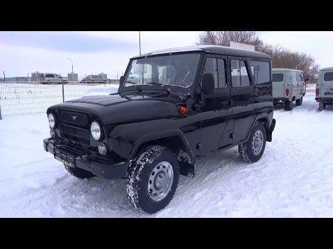2015 UAZ Hunter. Start Up, Engine, and In Depth Tour.