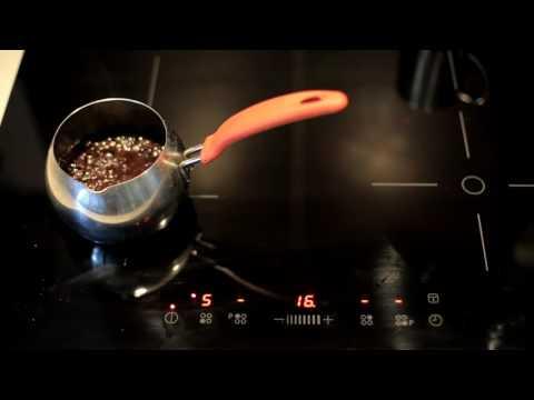 варим кофе на индукционной варочной панели фолклиг, икеа.