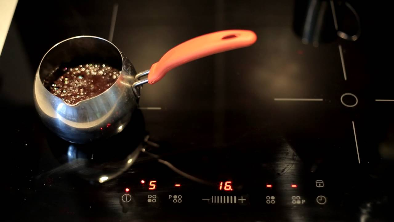 Как варить кофе на плите.Как варить кофе дома.Как варить кофе без .