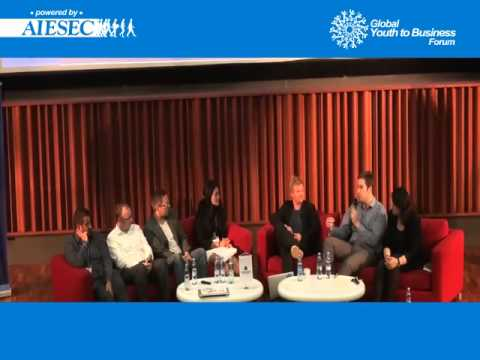 The Future of Work Panel - Global Youth to Business, Moscow