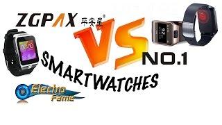 No.1 G2 Vs ZGPAX Smartwatches: Comparison of 5 the best Chinese Watchphones-Smartwatches