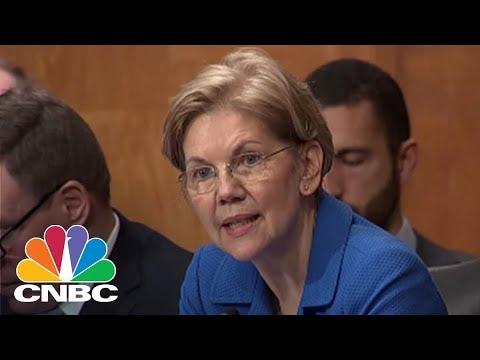 Sen. Elizabeth Warren Grills Fed's Jerome Powell Over Wells Fargo Measures   CNBC
