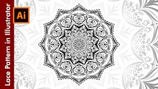How to design Lace Patterns in Adobe Illustrator