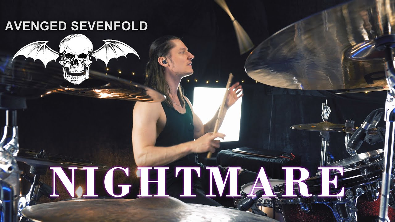 AVENGED SEVENFOLD - NIGHTMARE (Drum Cover)
