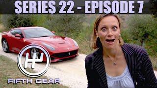 Vicky tests the Ferrari F12 - Fifth Gear