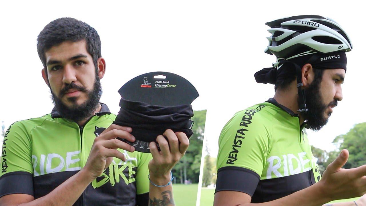 9ef6be860 Como usar bandana para pedalar e posição correta do capacete - YouTube