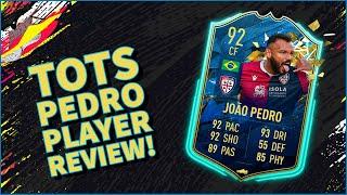 Fifa 20 - tots joao pedro player review!