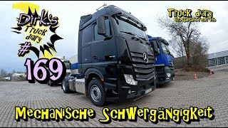 Mechanische Schwergängigkeit / Truck diary / ExpoTrans / LKW Doku #169