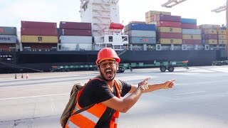 HOW TO TRAVEL BY CARGO/CONTAINER SHIP!?!