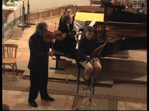 "Pierre Henri XUEREB and Daniel ADNI perform ""Tenebrae"" by Philippe HERSANT"