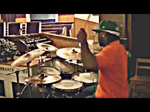 """I am healed"" Donald Lawrence: J on drums"