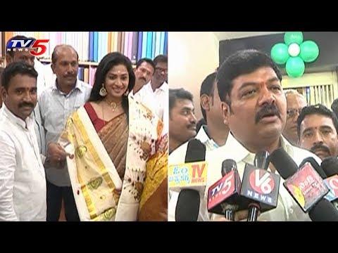 Ramraj Cotton New Showroom Launch At Warangal   TV5 News
