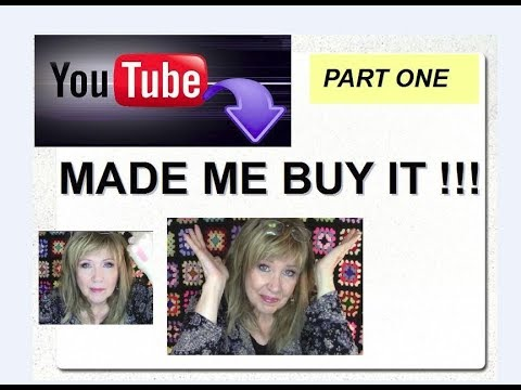 YouTube Made Me BUY IT !!!  Channels I Love & Makeup I Got!! Part 1 of 2
