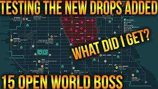 THE DIVISION | EASY FARM FOR CLASSIFIEDS AND EXOTICS IN OPEN WORLD | TESTING NEW LOOT POOL