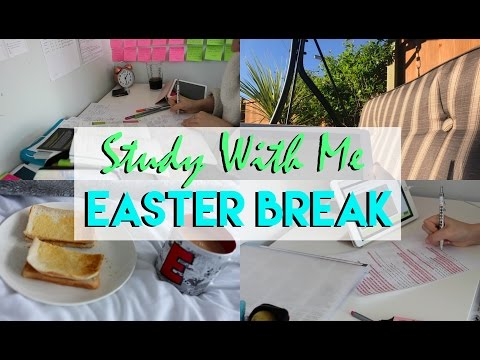 REVISE WITH ME: EASTER BREAK EDITION! | Eve