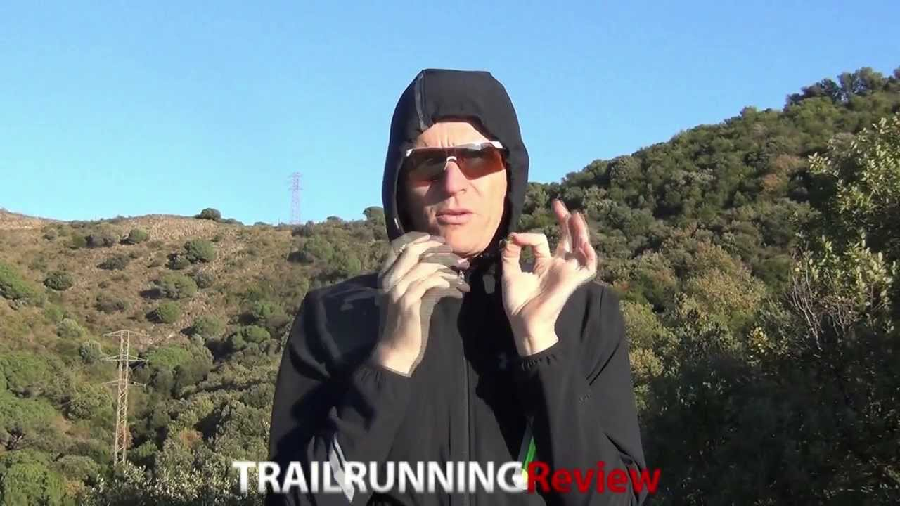 Under Armour Stealth Run Storm Jacket Review Youtube