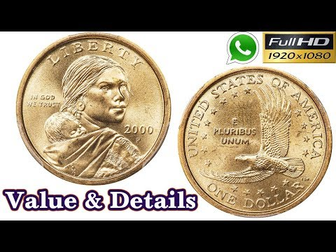 One Dollar Coin 2000 | Sacagawea Dollar | US Old Coins | Old Coins Value | Tamil | Antique Box
