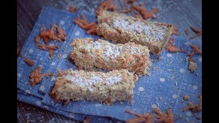 Carrot Lime Protein Bars | Vegan Fitness Recipe