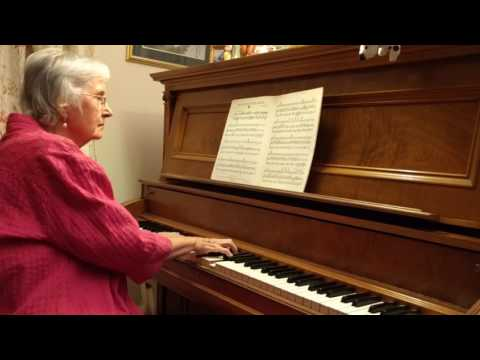 The old Piano roll blues. Piano by Carolyn Bradley.