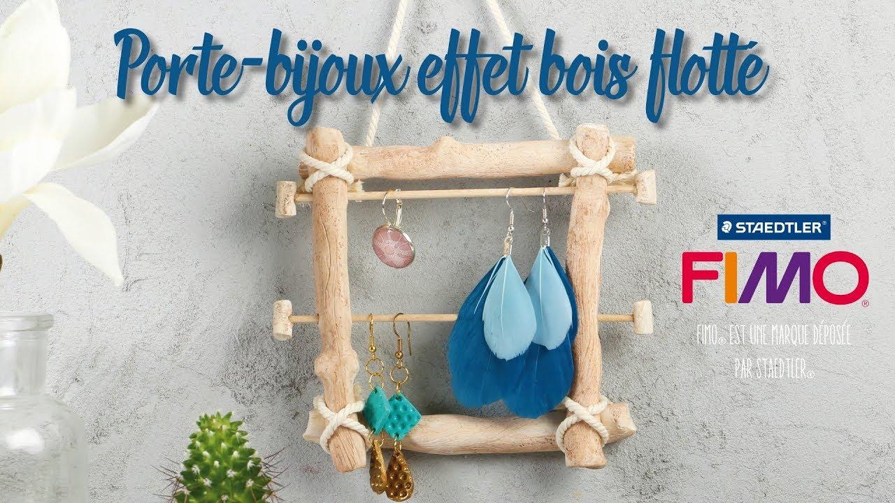 Bois Flotté Porte Photo tuto fimo® : le porte-bijoux effet bois flotté
