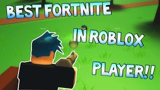 BEST FORTNITE IN ROBLOX PLAYER EVER! (DON'T @ ME) [Island Royale ROBLOX]