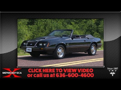1983 Ford Mustang GT For Sale @ MotoeXotica
