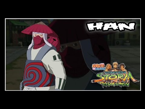 Naruto Shippuden: Ninja Storm Revolution - Jinchuuriki DLC Pack - HAN // Moveset