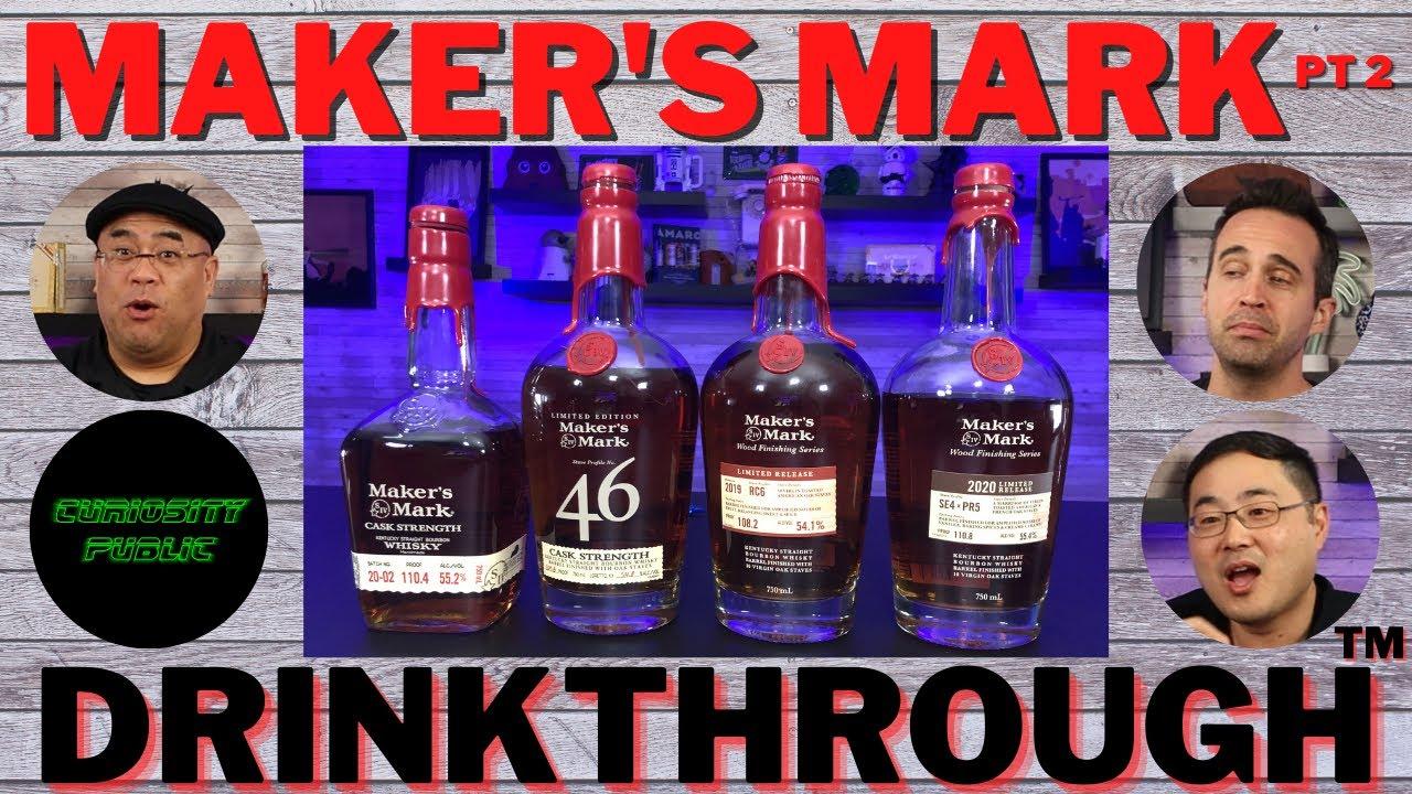 Download Maker's Mark Drinkthrough Part 2 | 46 Cask | SE4xPR5 | RC6 | Curiosity Public