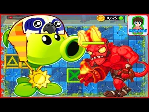 Растение против зомби 3 Plants vs zombie 3 про героев  китайская версия от Фаника 4