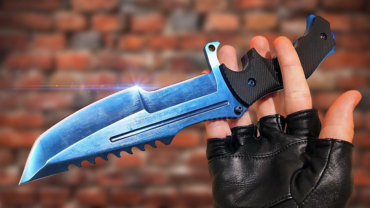 10 Трюков Ножами из CS:GO | Настоящие ножи из CS:GO