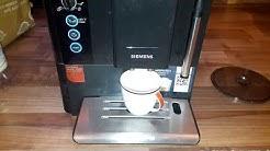 Siemens EQ.5 Kaffeevollautomat defekt Fehler kein Kaffee