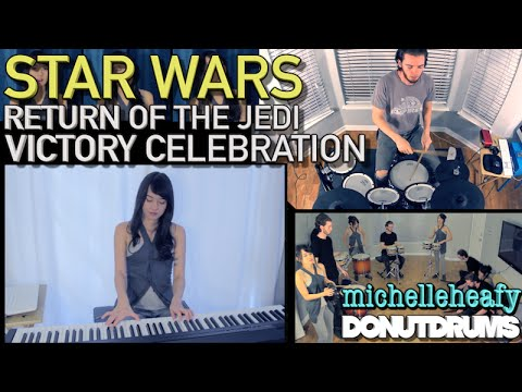Victory Celebration (Star Wars: Return Of The Jedi) Cover | Michelle Heafy, DonutDrums