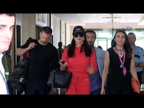 Adriana Lima Antalya'ya Geldi