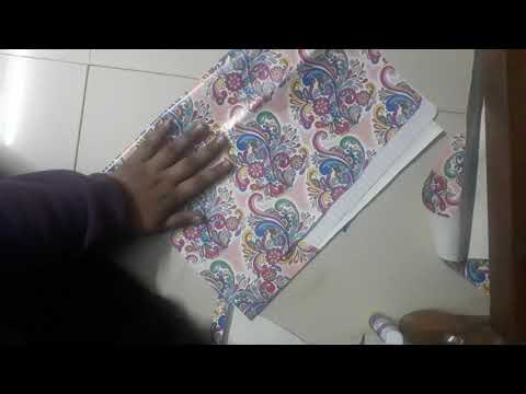 DIY Folder for paper organization/ StylishGirly0987