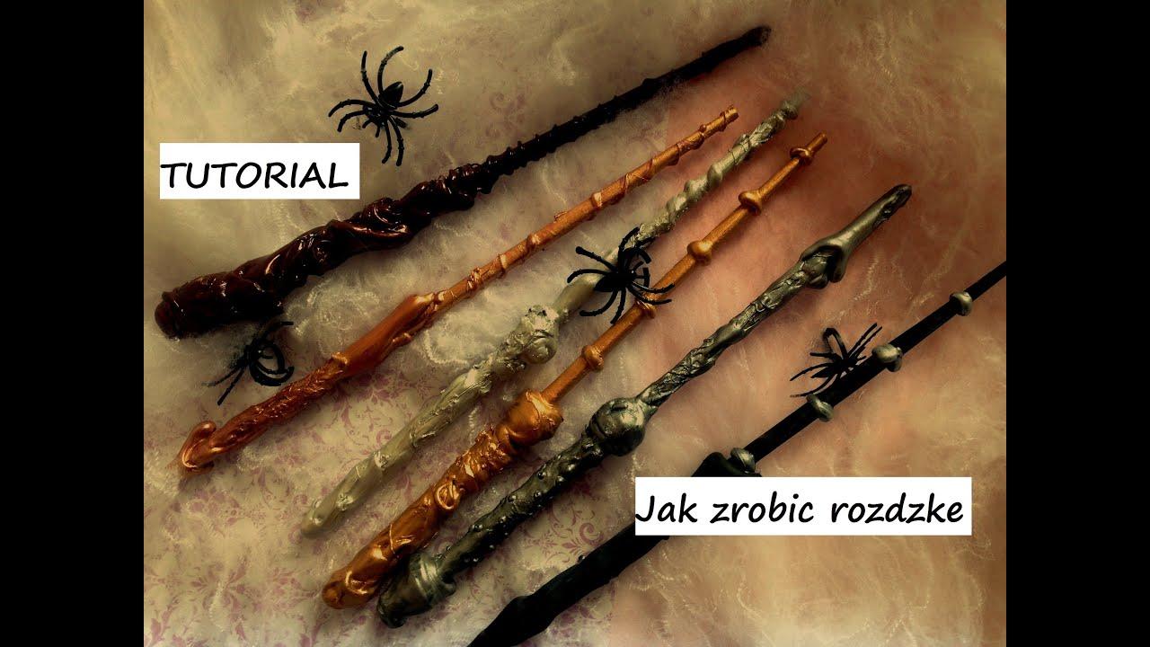 Jak zrobić różdżkę inspirowaną serią Harry Potter