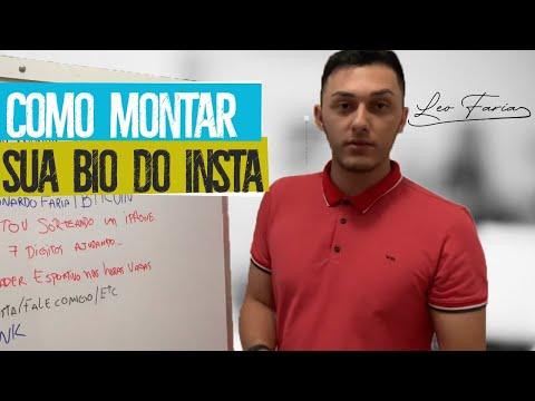 MELHOR BIO JÁ FEITA NO INSTAGRAM!!! Aula 2 Com Léo Faria