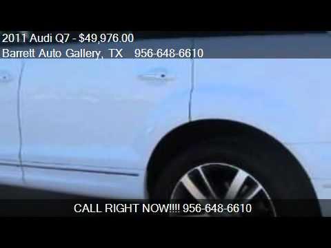 2011 audi q7 diesel for sale in mcallen tx 78501 youtube. Black Bedroom Furniture Sets. Home Design Ideas