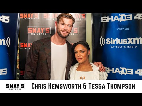 Chris Hemsworth and Tessa Thompson From Avengers End Game to MIB International | Sway's Universe