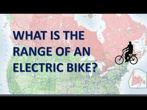 What is the range of an electric bike