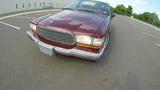 4K Review  1992 Buick Roadmaster Limited Virtual Test-Drive & Walk-around
