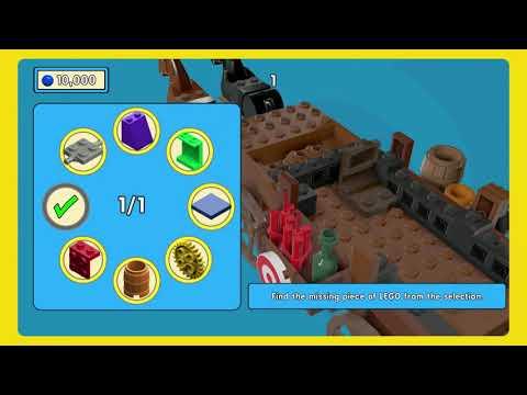 The Lego Movie Video Game - Walkthrough 4 - Flatbush Gulch |