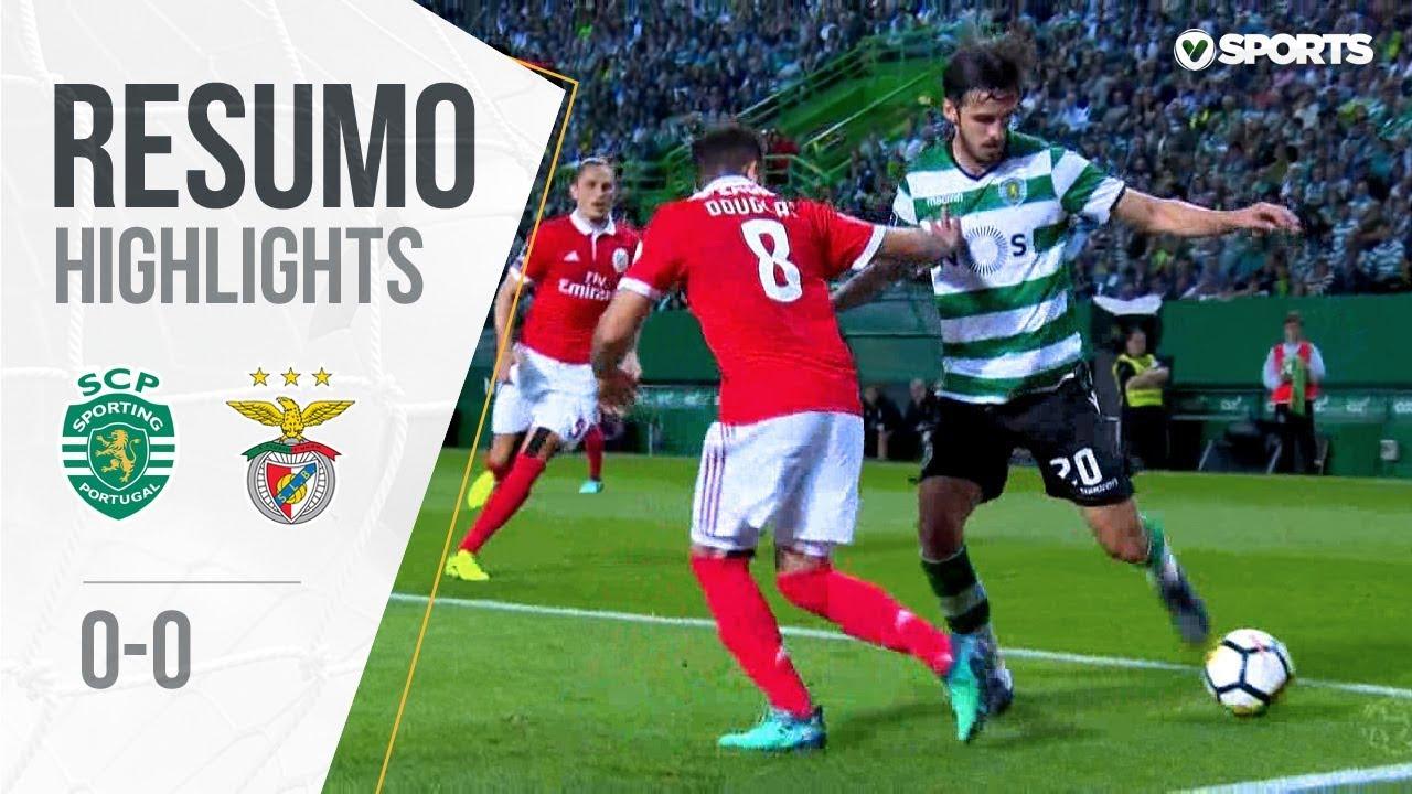 highlights-resumo-sporting-0-0-benfica-liga-33
