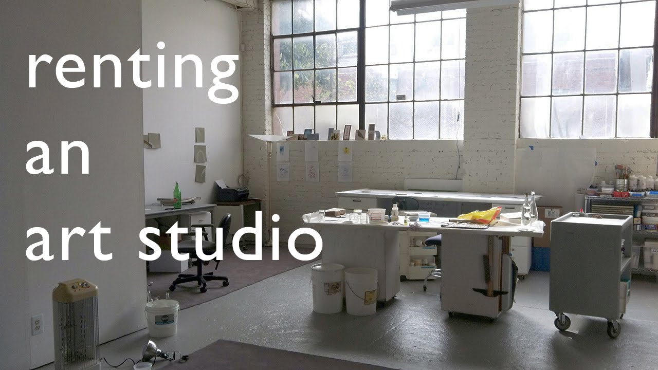 Renting An Art Studio