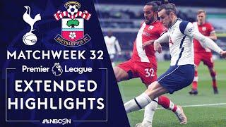 Tottenham v. Southampton | PREMIER LEAGUE HIGHLIGHTS | 4/21/2021 | NBC Sports