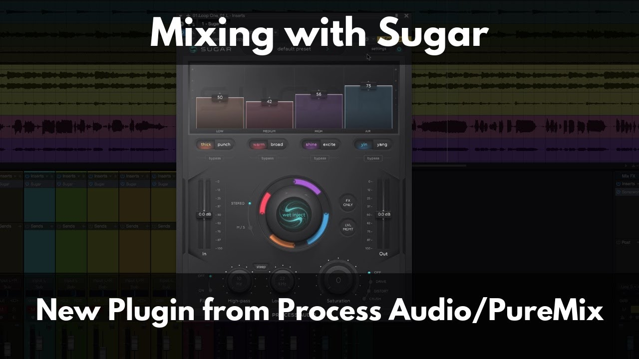 Mixing with Sugar | New Plugin from Process Audio and PureMix