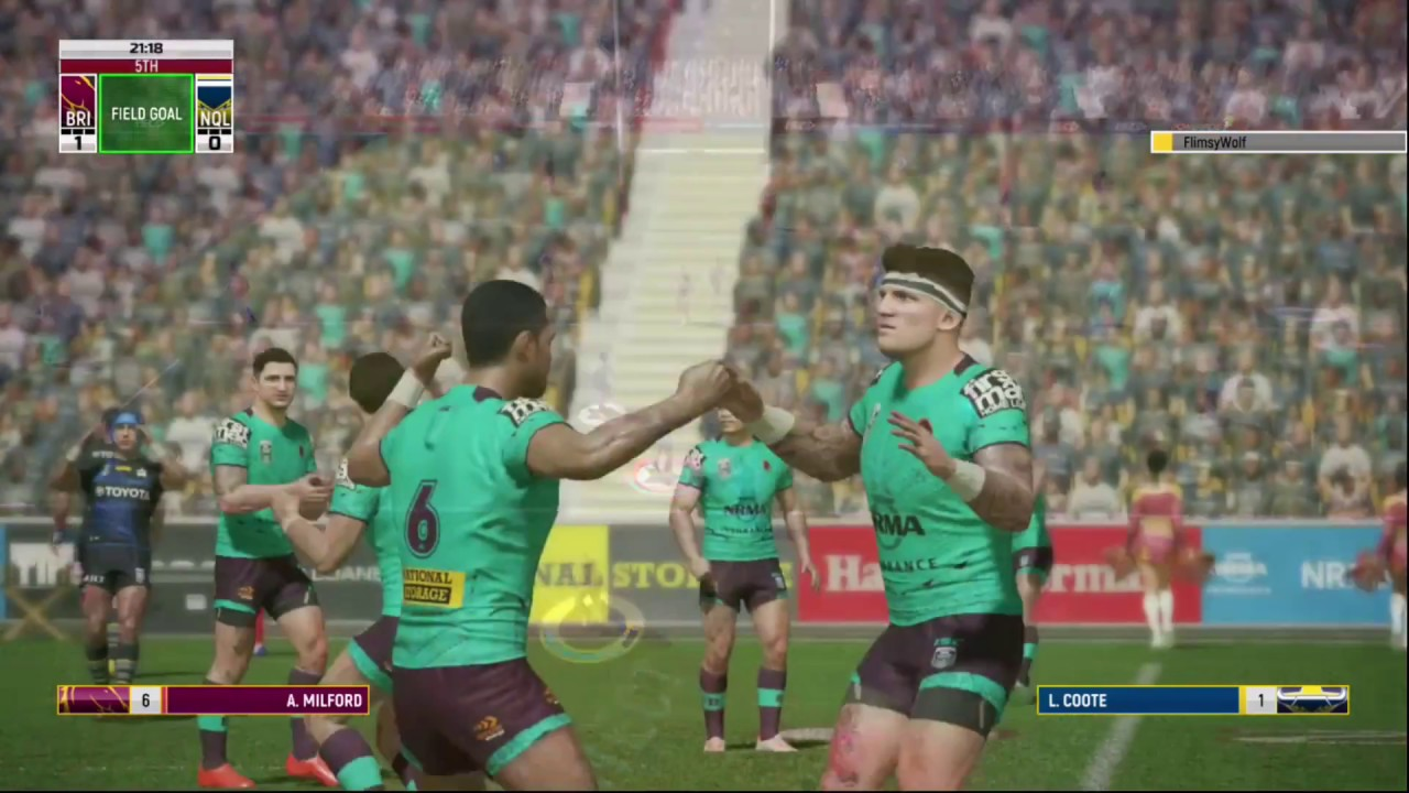 WOOW!!! Best Rugby League Live 4 Plays Of The Day
